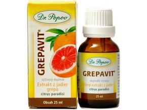 Grepavit extrakt z jadier grepu - 25ml - Dr. Popov