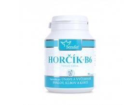 Horčík + B6 na zníženie únavy - 90 kapsúl - Serafin