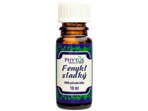 Fenikel obyčajný prírodný éterický olej 100% - 10ml - Phytos