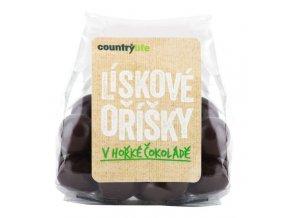 Lieskovce v horkej čokoláde - 100g - Country Life