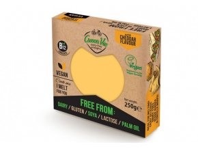 Syr bez mlieka vegan cheddar - 250g - Greenvie