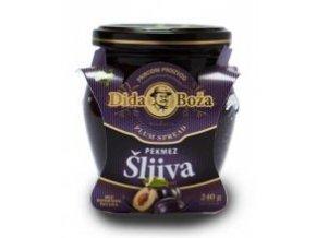 Slivkový džem BIO 100% ovocia - 240g - Dida Boža