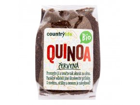 Quinoa červená BIO - 250g - Country life