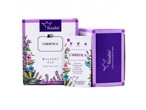 Chrbtica bylinný čaj porciovaný - 37,5g - Serafin