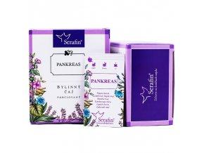 Pankreas bylinný čaj porciovaný - 37,5g - Serafin
