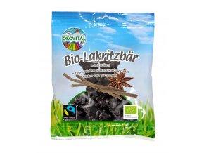 Gumené medvedíky sladké drievko BIO Vegan - 80g - Okovital