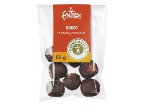 kokos v horkej cokolade