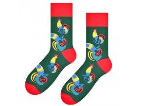Nechoď do zahrády ponožky zelené