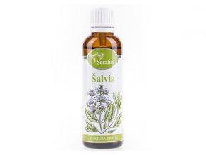 Šalvia bylinná tinktúra - 50ml - Serafin