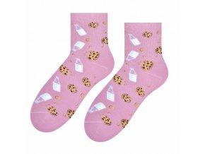 Sladke ráno ponožky ružové