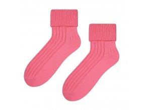 Ponožky na spanie ružové
