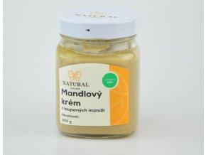 Mandľový krém biely - 300g - Natural Jihlava