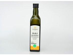 Olivový extra panenský olej - 500ml  - Natural