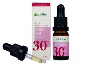 CBD olej 30% - 10ml - Absinther