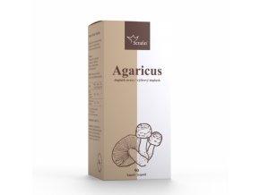 Šampiňón - Agaricus medicinálna huba - 90 kapsúl - Serafin