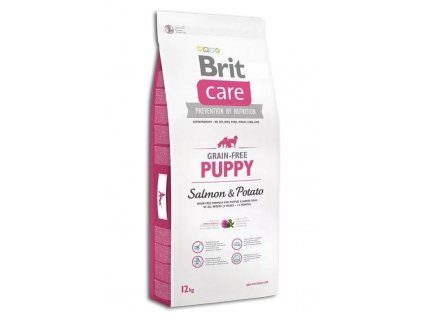 Brit care puppy salmon S+P 12kg