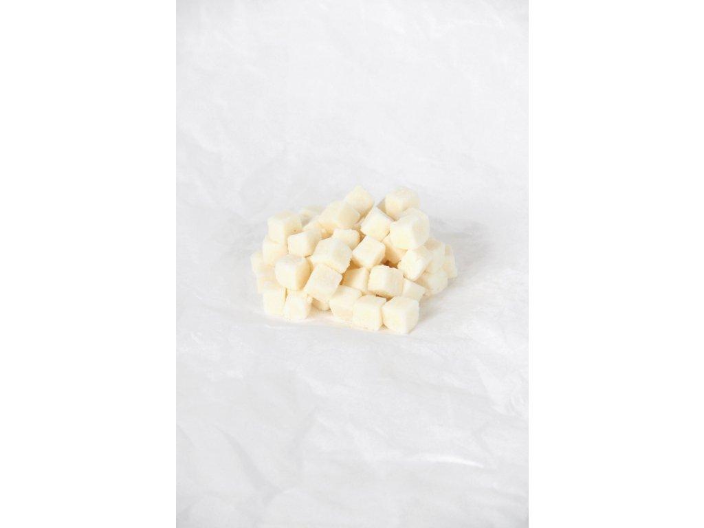 Kokosové kostky s přírodním cukrem