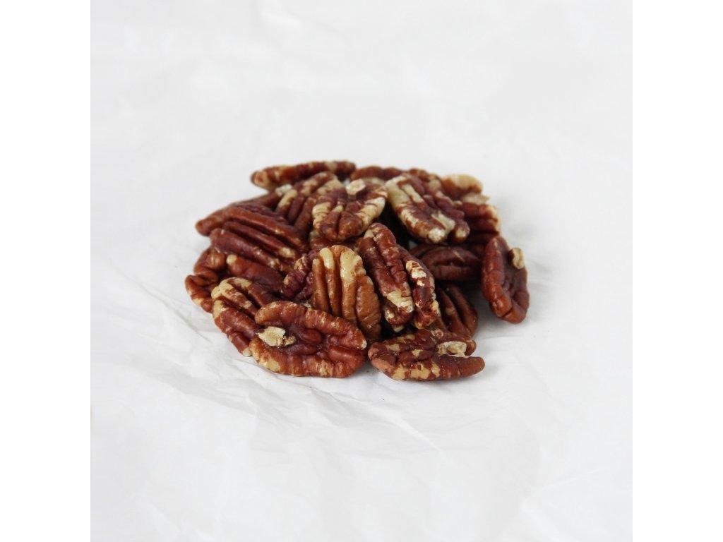 Pekanové ořechy pražené bez soli