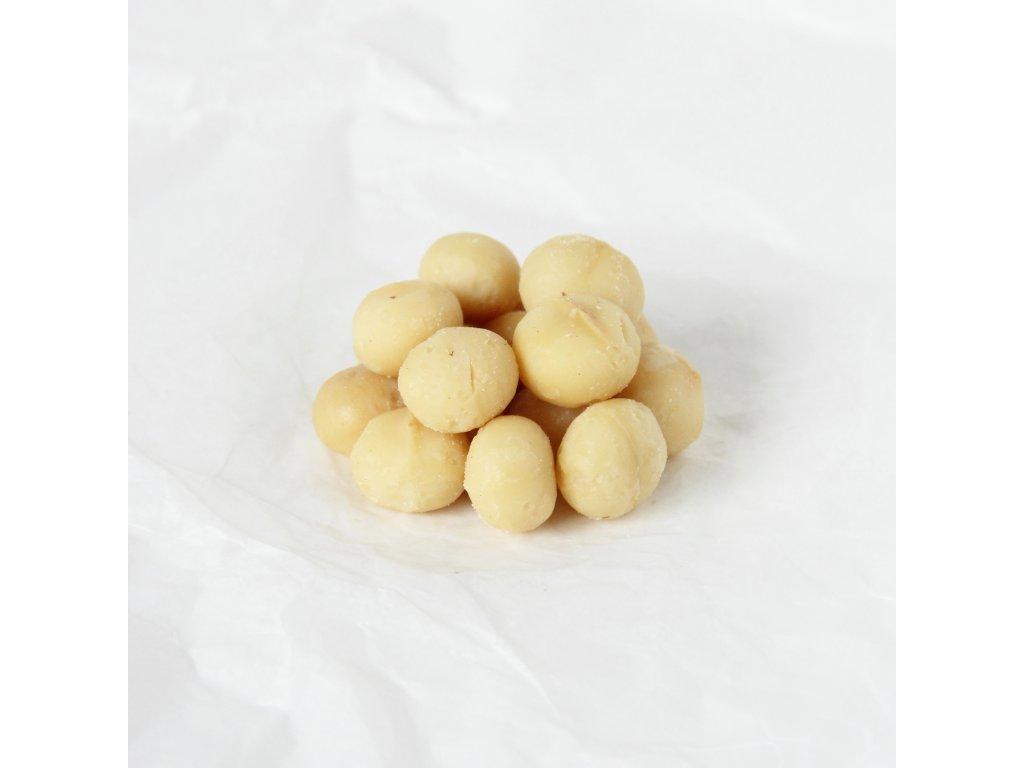 Makadamové ořechy pražené bez soli