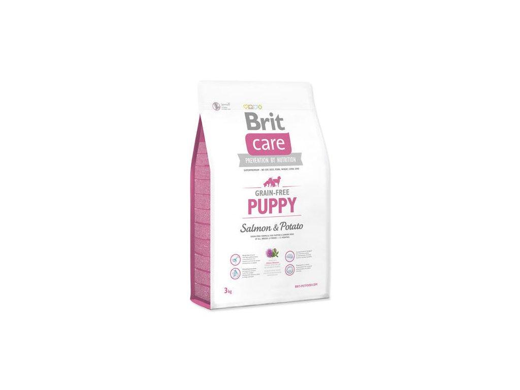 BRIT Care Grain-free Puppy Salmon 3 Kg