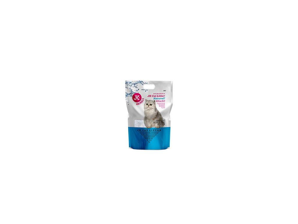 59142 1 jk animals cat litter natural silica gel 4 3 kg 10 l 0 w