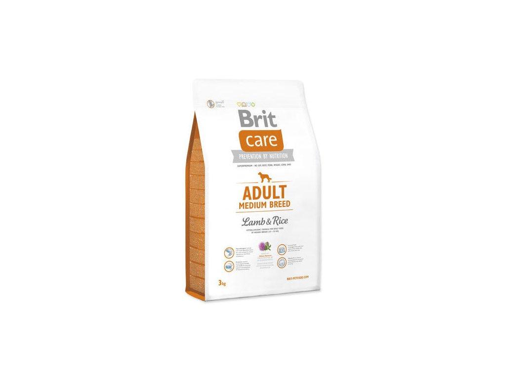Brit Care Medium Adult Lamb&rice 3 kg