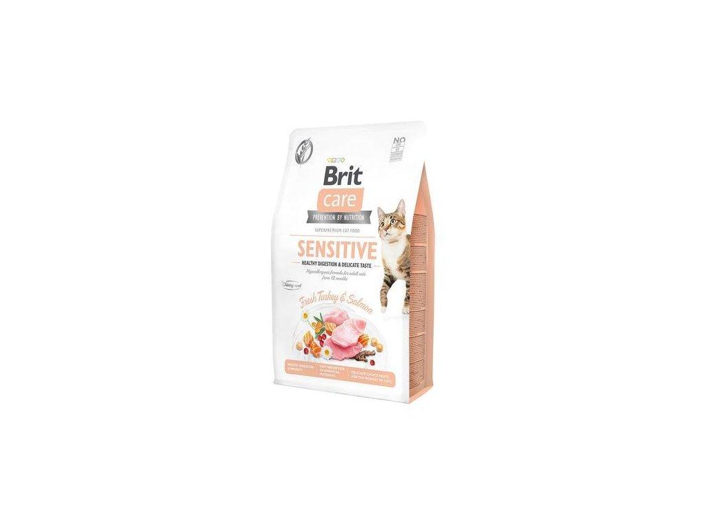 brit care cat sensitive 400g