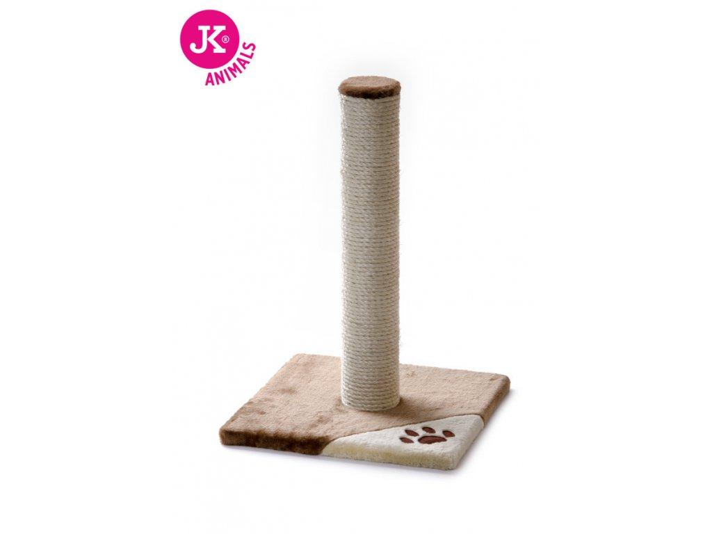 59716 1 jk animals skrabadlo pro kocky caty medium 36 36 52 cm bezova hneda 1