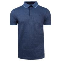 Pánské modré polo tričko Feratt