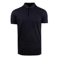 Pánské černé polo tričko Feratt