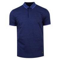 Pánská modrá polo košile Feratt