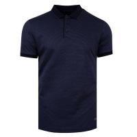 Tmavě modrá polo košile Feratt