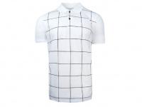Vzorované polo tričko Feratt s krátkým rukávem