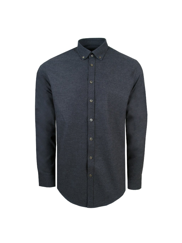 košile OWEN MODERN FIT tm. šedá