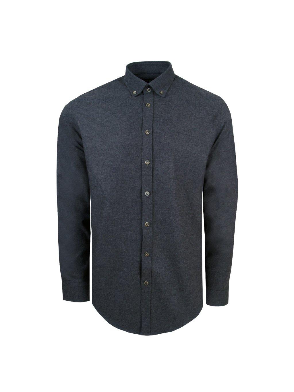 pánská košile FERATT OWEN MODERN tm. šedá