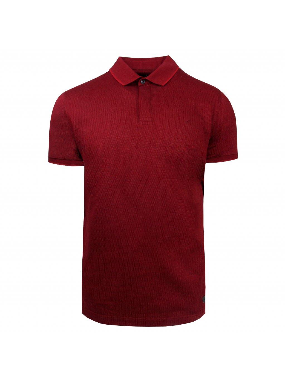 Pánská polo košile FERATT CURTIS bordó