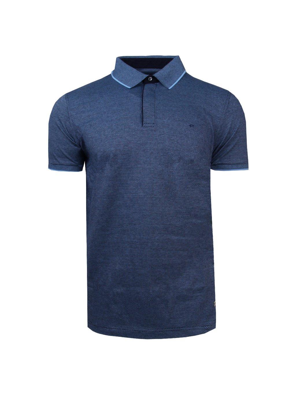 Pánská polo košile FERATT CURTIS modročerná