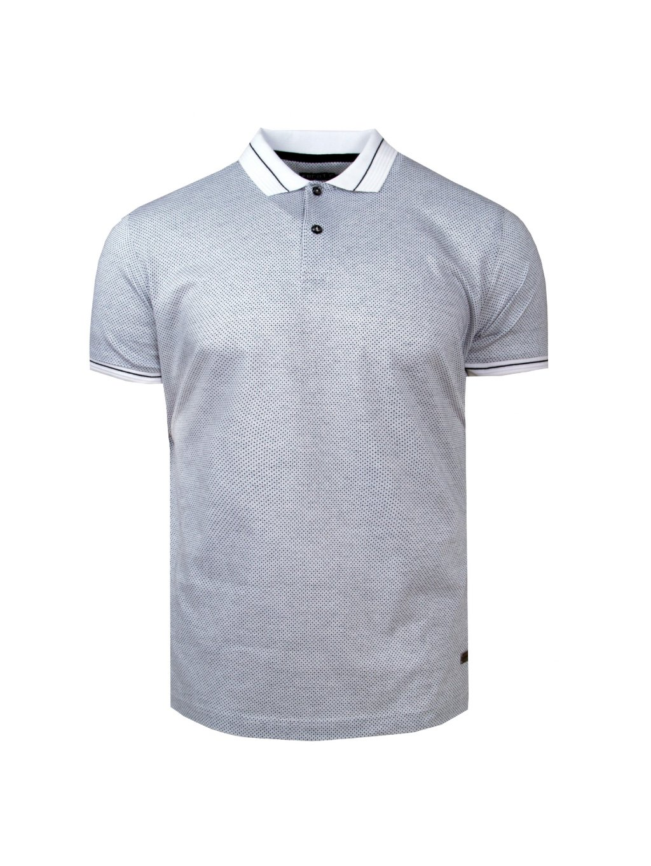 pánská polo košile FERATT GEORGE bíločerná