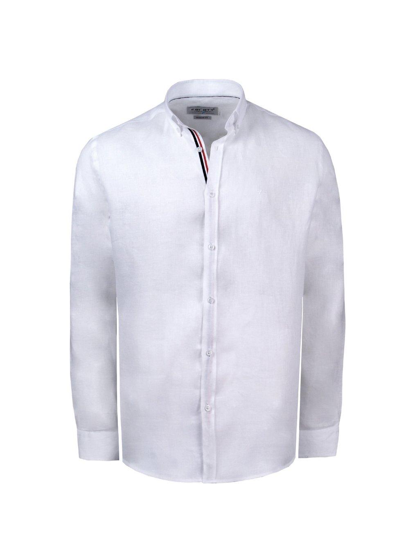 košile OCEAN WAVE Reg. bílá - PÁNSKÁ MÓDA da658a05d8