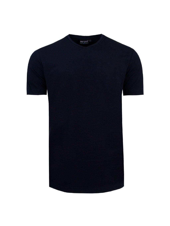 tričko SEBASTIAN tm. modré