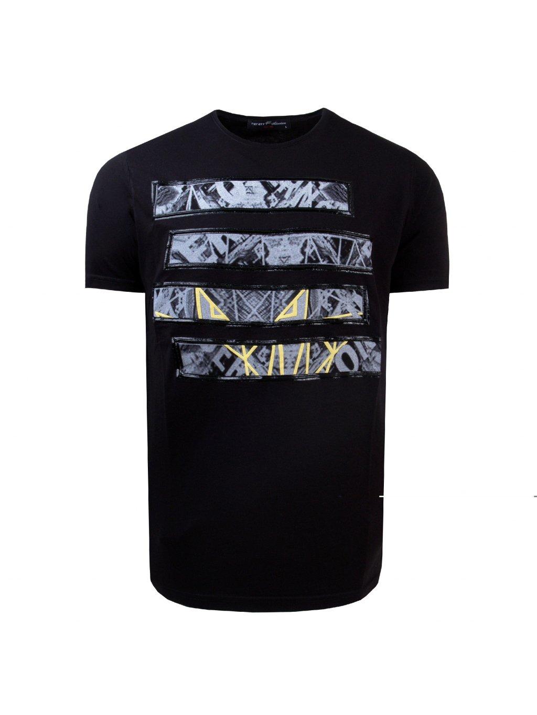 tričko SAM černé