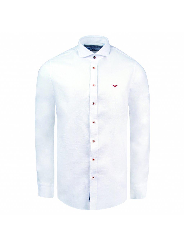 košile ANGELO Slim fit bílá