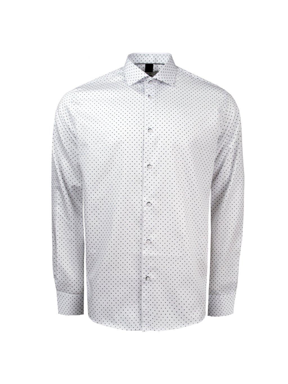 košile MERCEDES Reg. bílá m.
