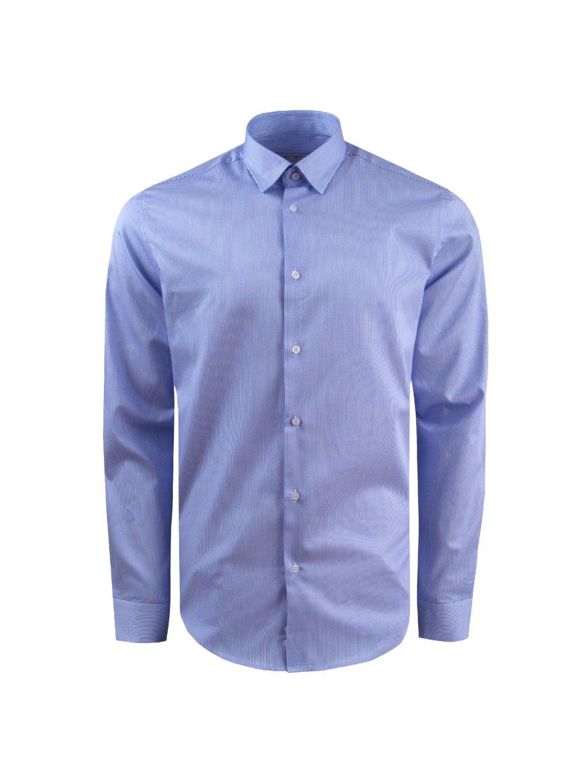 pánská košile FERATT TOMMASO Modern modrá