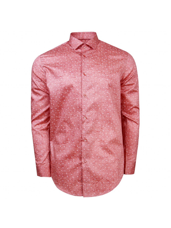 pánská košile FERATT ALESSIO Modern.červená