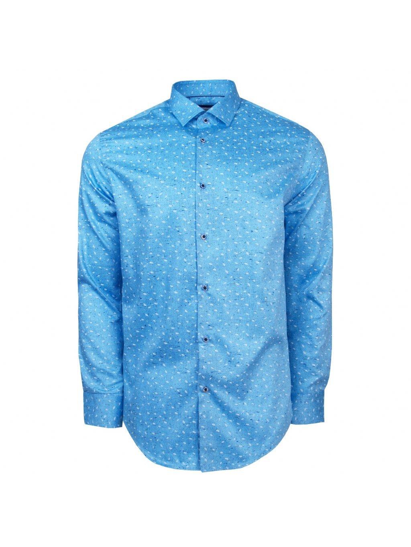 pánská košile FERATT ALESSIO Modern. sv. modrá