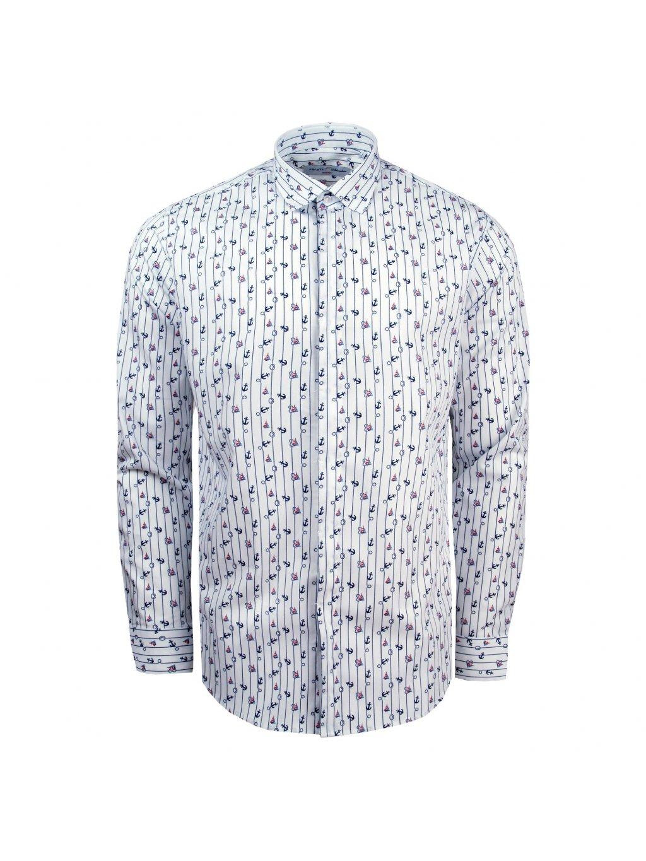pánská košile FERATT NEPTUNO bílá m.