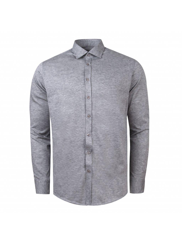 pánská košile FERATT CHARLIE Slim šedá