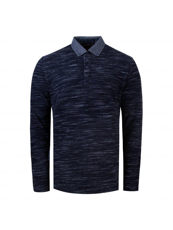 pánská polo košile FERATT PAOLO tm. modrá