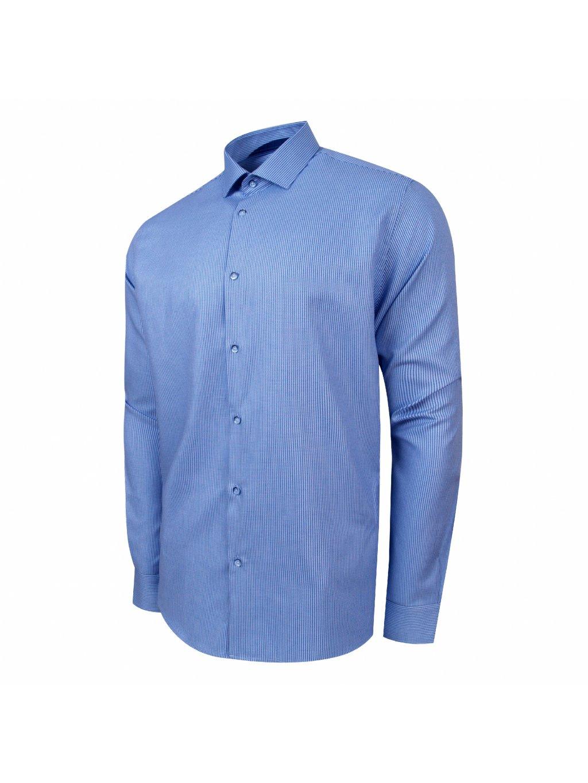 edbbdc160a7a košile PERF Regular MODRÁ - PÁNSKÁ MÓDA